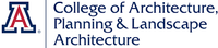 University of Arizona, College of Architecture, Planning & Landscape Architecture Logo